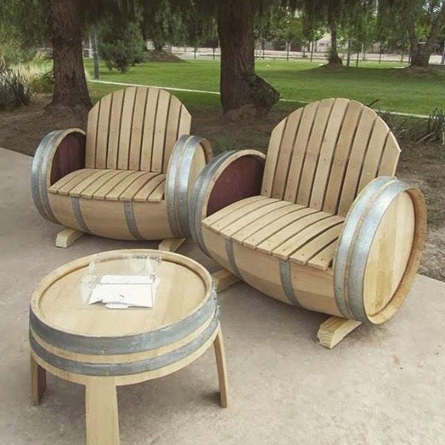 Pallet chair furniture