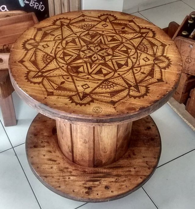 Pallet round table