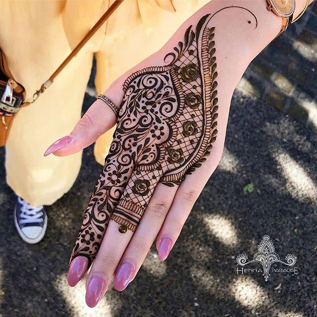 easy henna designs ideas