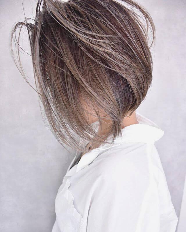 A Wonderful A-Line Amber Bob Hairstyles for Fine Hair