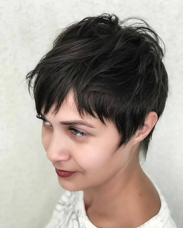 Short Messy Hairstyles for Fine Hair with Twists
