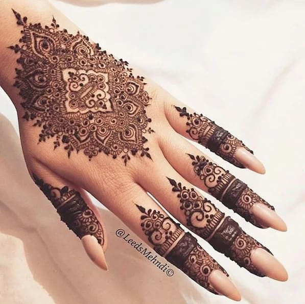 Stylish Henna Designs for Your Beautiful Hands 2019