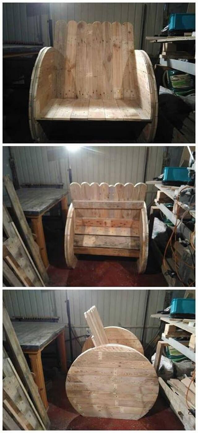 Pallet chair ideas