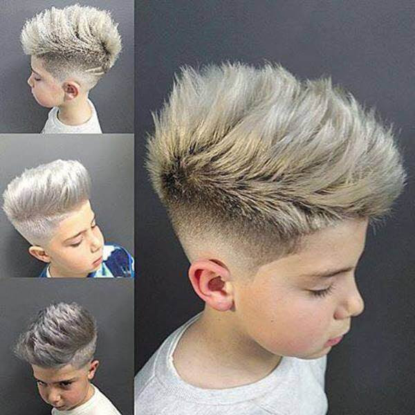 Fresh & Cool Boys Hairstyles