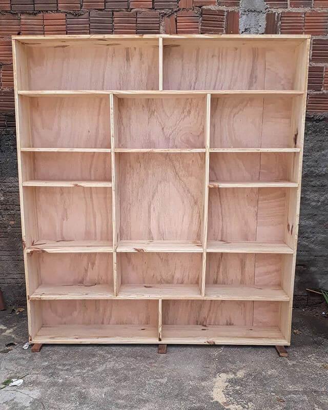 Pallet shelf ideas