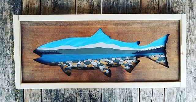 Pallet fish art