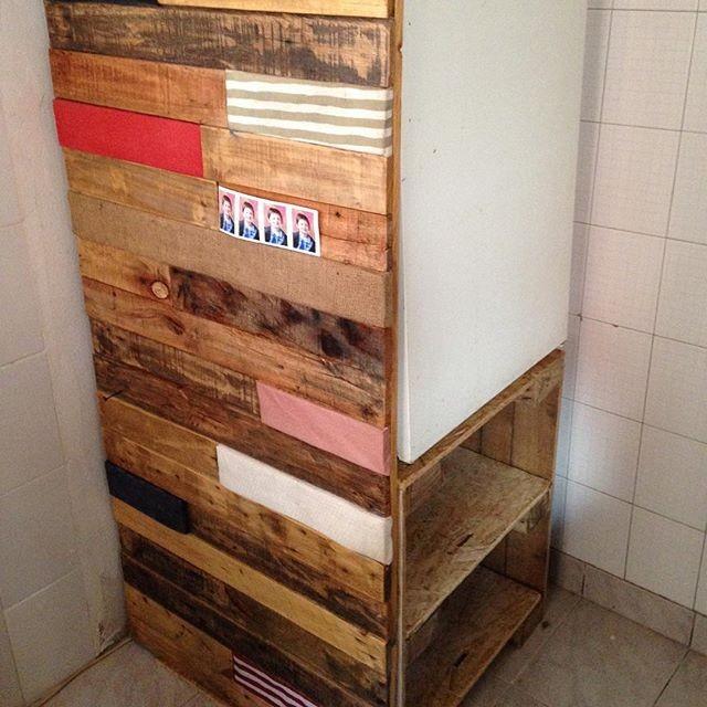 Pallet freezer rack