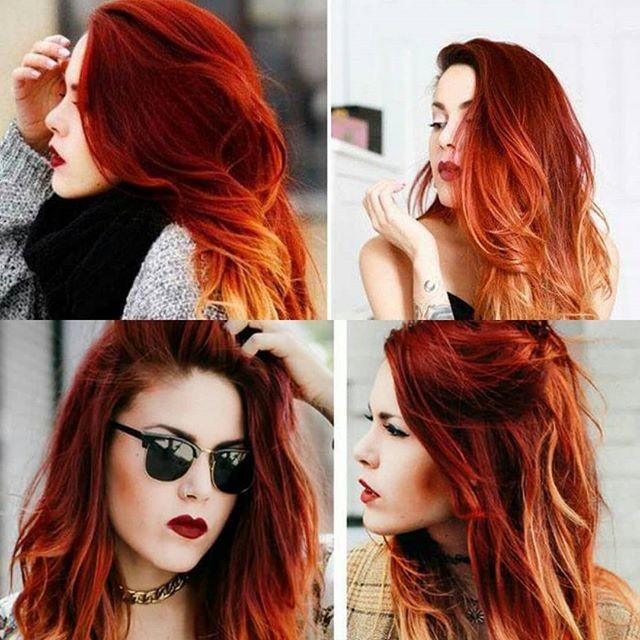 Redhead braided hairstyles