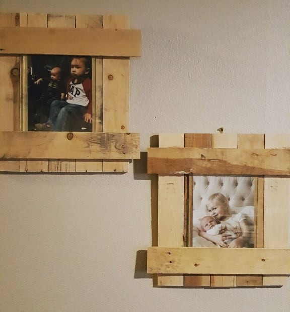 Pallet frame crafts