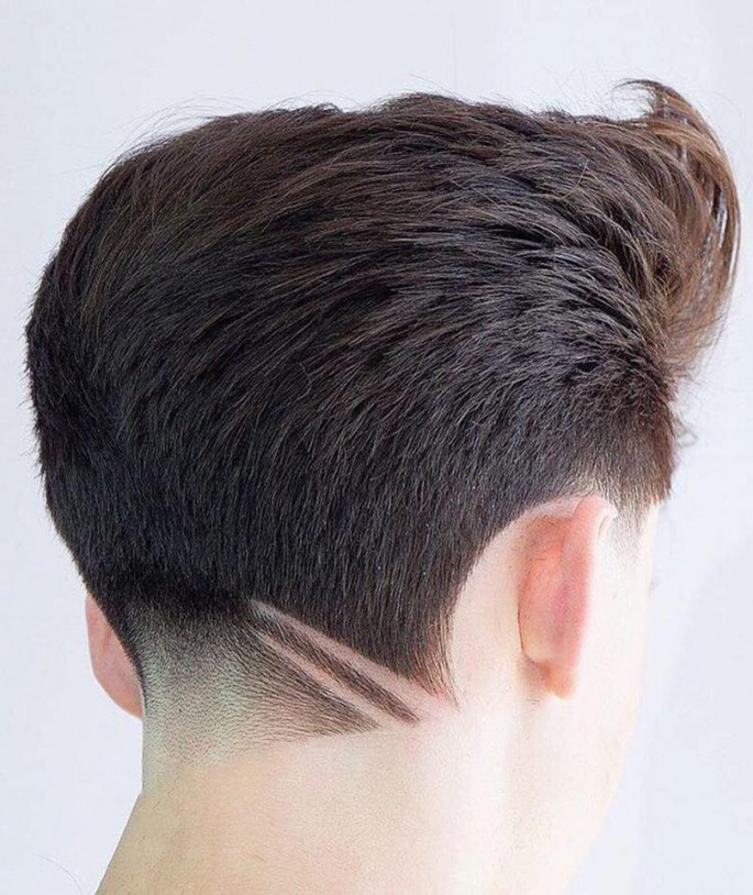 Under Cuts Men's Hairstyles