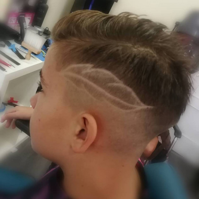 French Crop haircut
