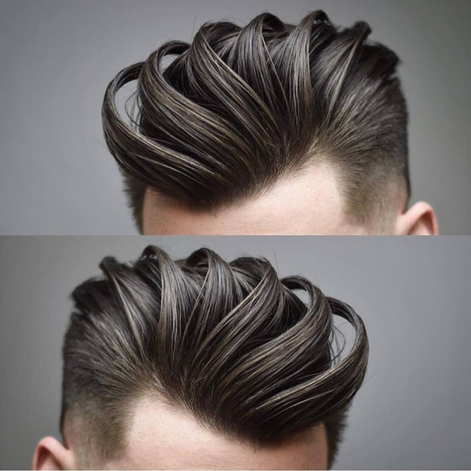 Pompadour a Perfect Men's Haircut