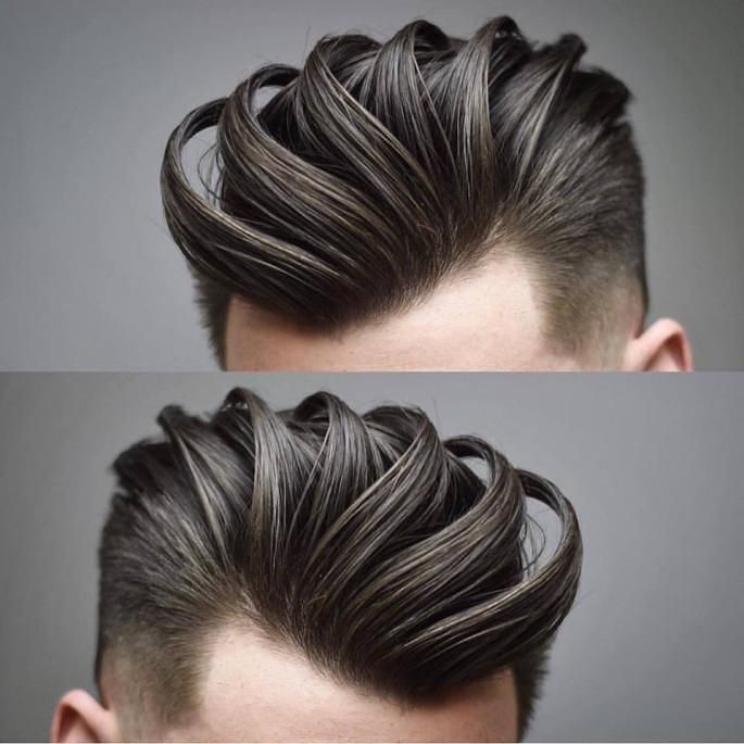 Pompadour a Perfect Men's Haircut