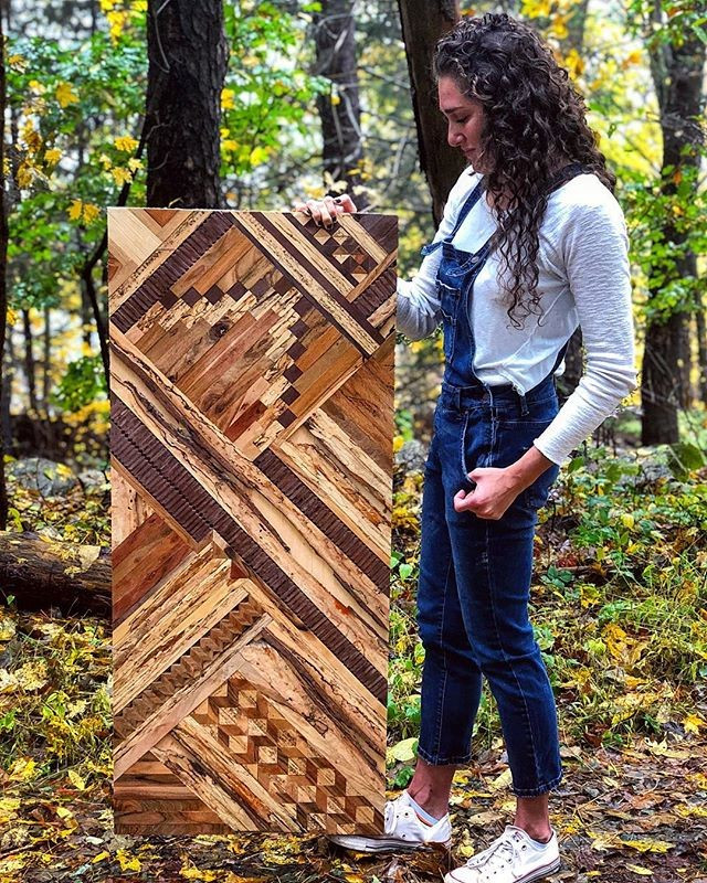 Pallet wood art