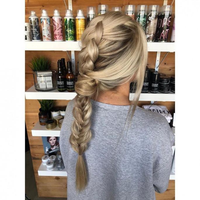 Tina Fey Braided Hairstyles