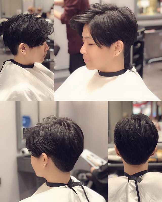 A Modern Mullet Hairstyle