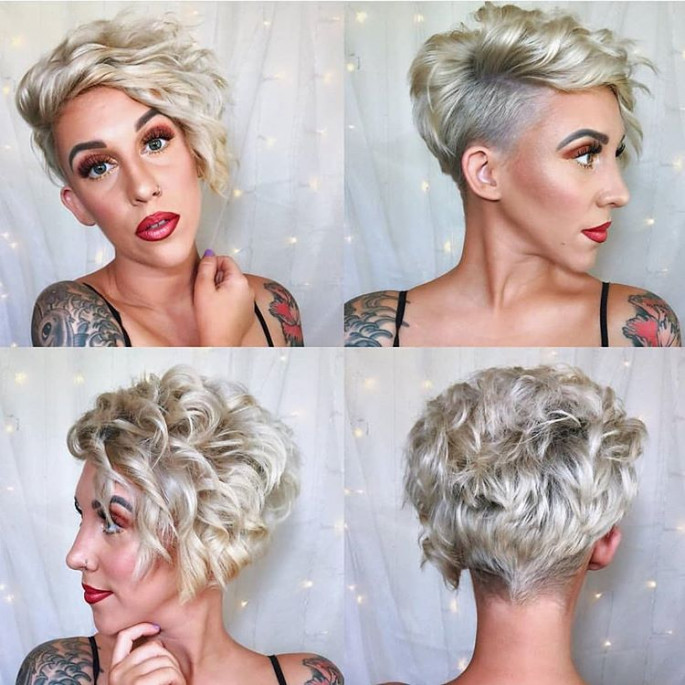Side-Swoop Gorgeous Hairstyles for Women with Short Hair
