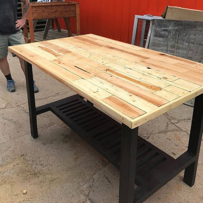 simple pallet table ideas