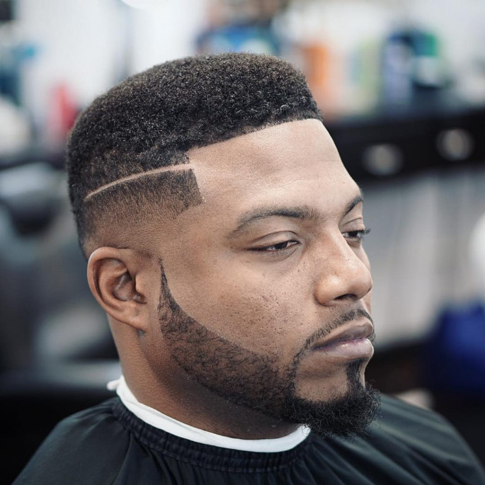 Box Fade Short Haircuts & Hairstyles for Black Men