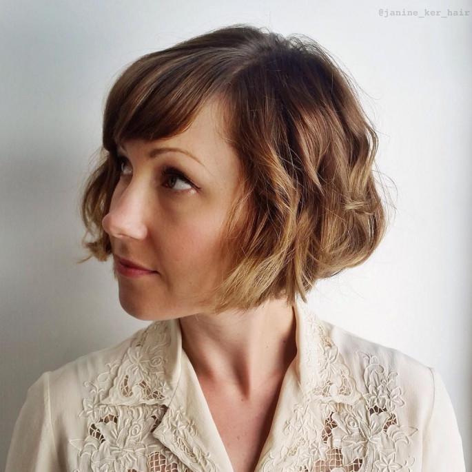 Vintage Short Curly Hair Bob Short Curly Hairstyles & Haircuts for Women