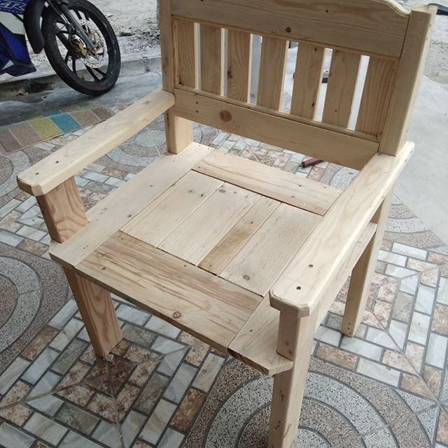 pallet chair wood ideas