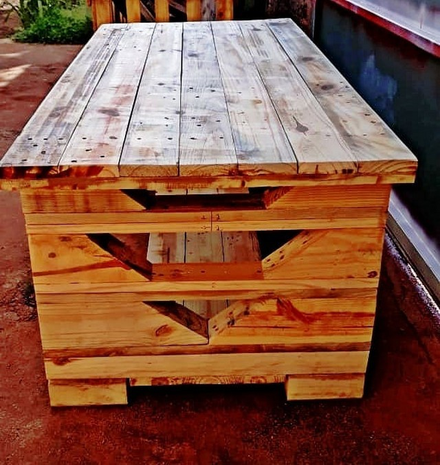 best pallet storage box ideas