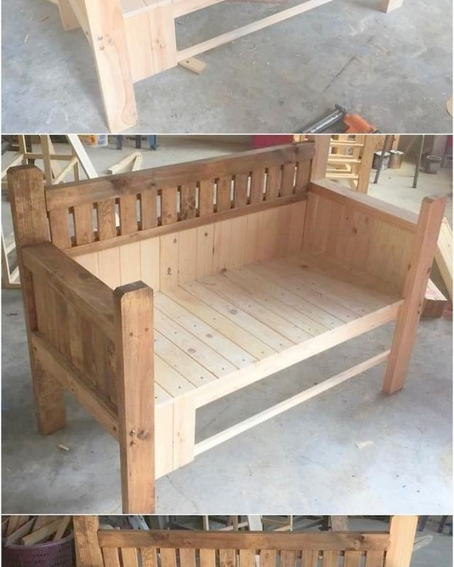 beautiful pallet bench ideas