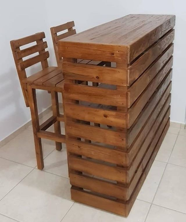 pallet table ideas with chairs set
