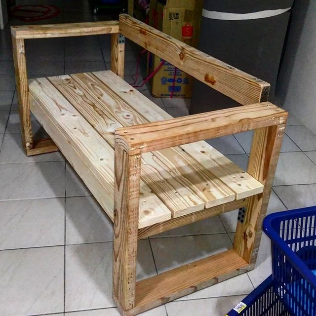 pallet benches ideas