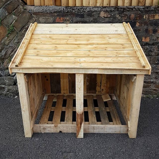 wooden pallet shed ideas