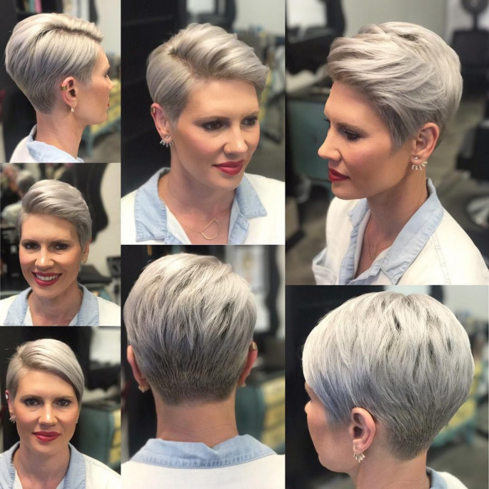 Super-Radical Haircut Hairstyles for Women Over 40s