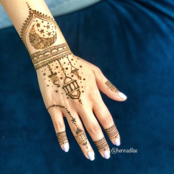 backhand mehndi design ideas