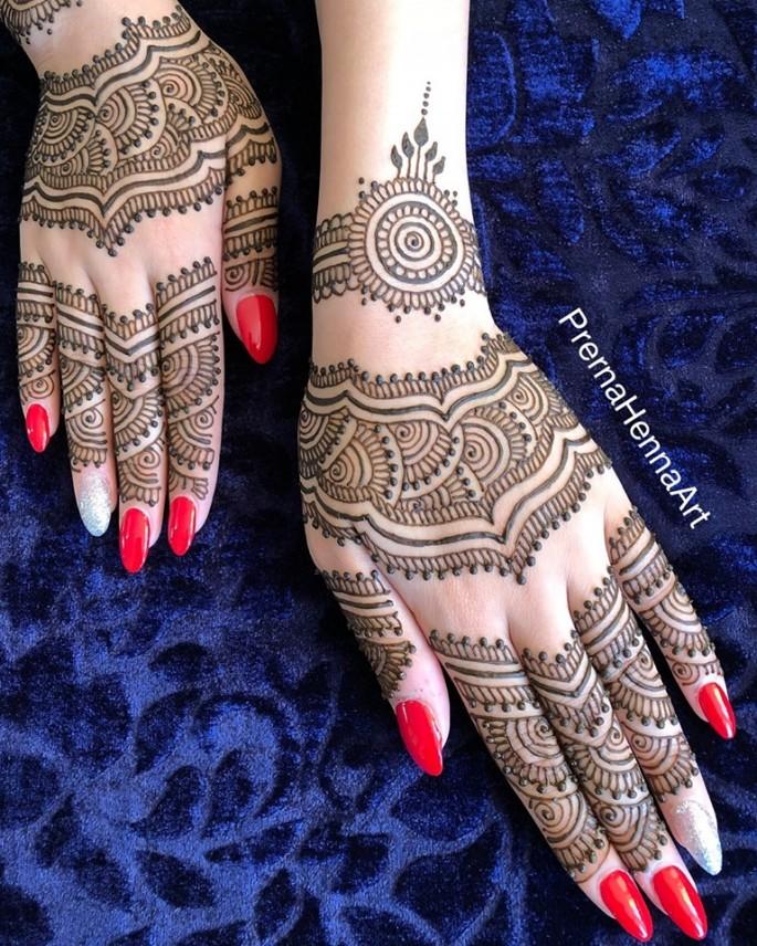 full mehndi design ideas for backhands