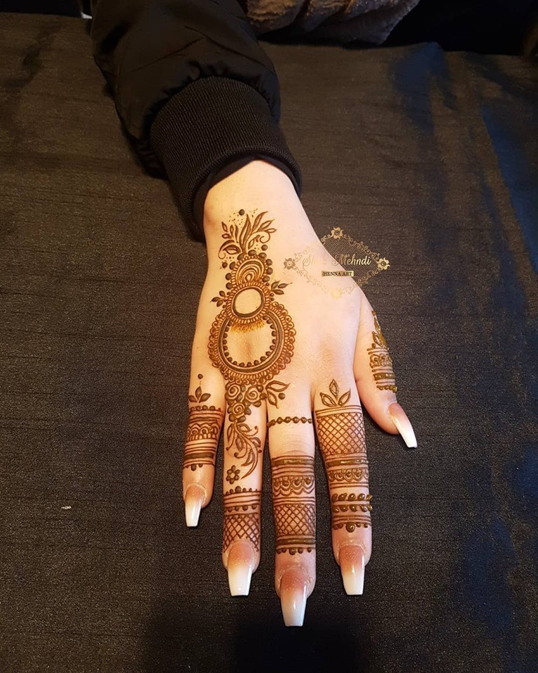 Top 51 Easy Simple And Latest Henna Arabic Mehndi Designs