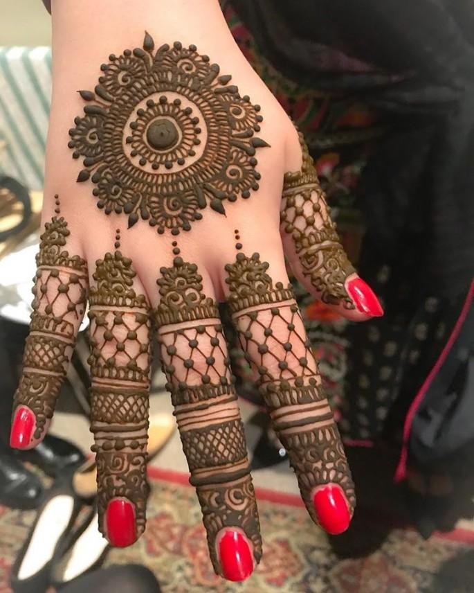 tikky mehndi designs for women