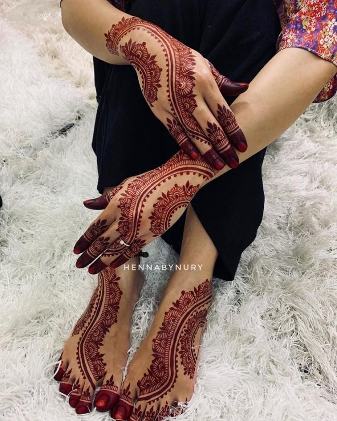 bridal mehndi design ideas on sensod