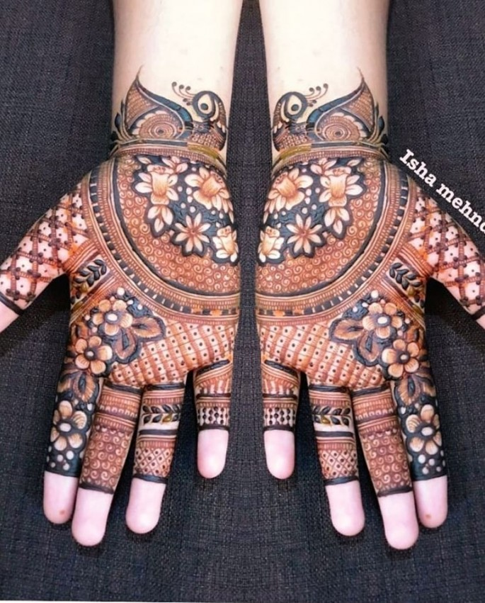 indian mehndi design ideas for hands