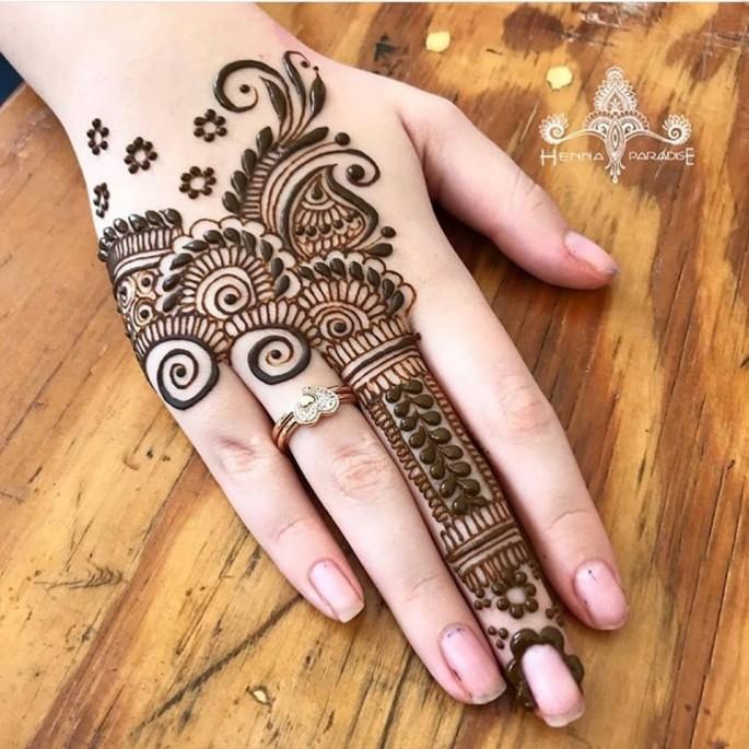 pakistan girls mehndi design ideas