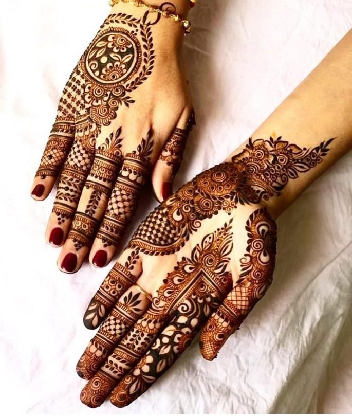 indian girls mehndi designs ideas