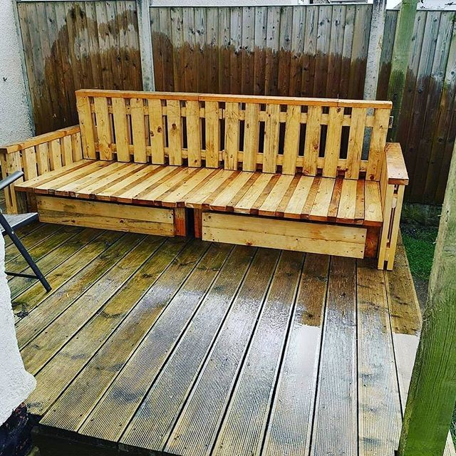 best pallet bench ideas
