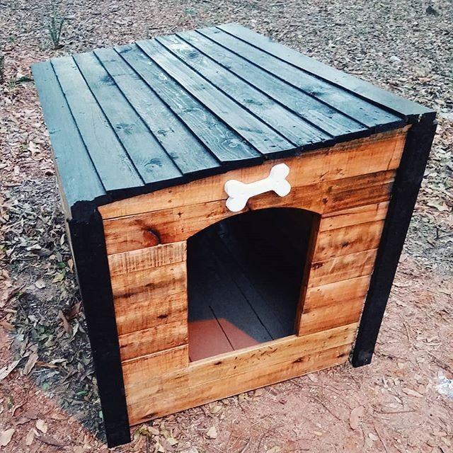 simple pallet pet house ideas