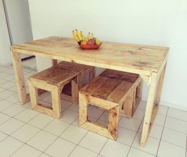pallet side table ideas