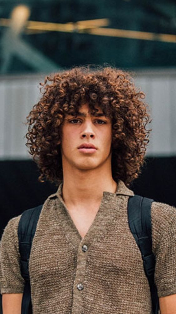 type 3 curly hair male