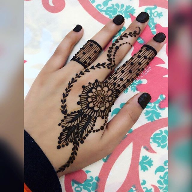 indian backhand mehndi designs ideas