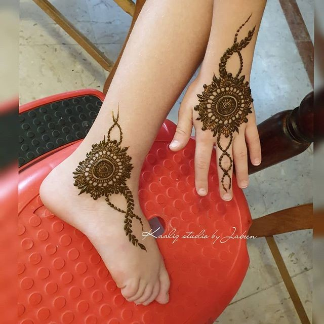 indian hand and foot mehndi designs ideas