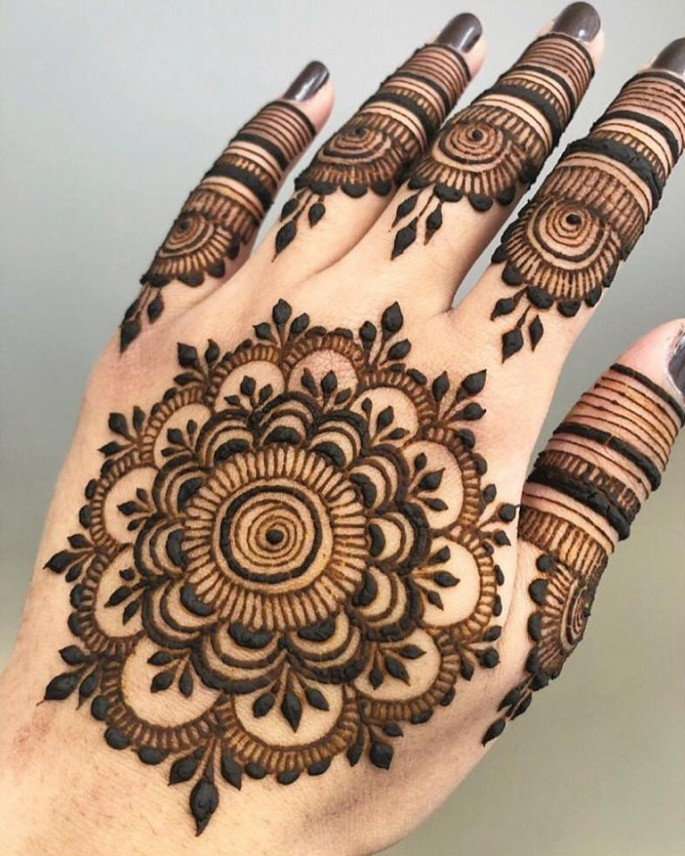 tikki backhand mehndi designs
