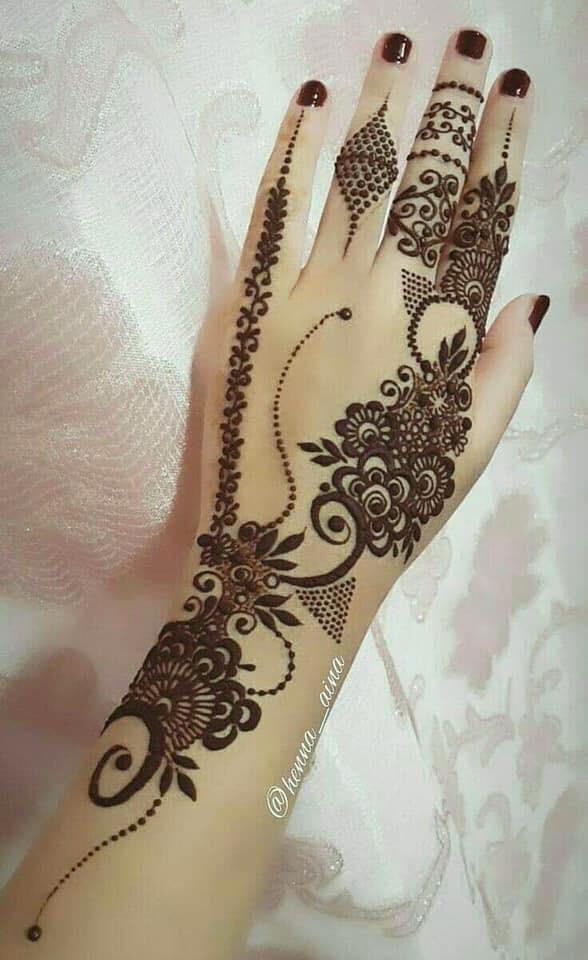 easy indian mehndi designs
