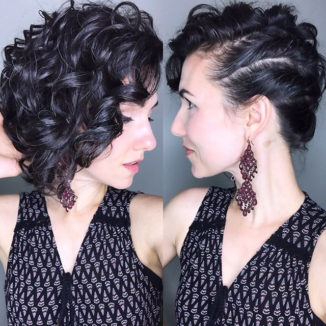 Curly Weave Short Curly Hairstyles