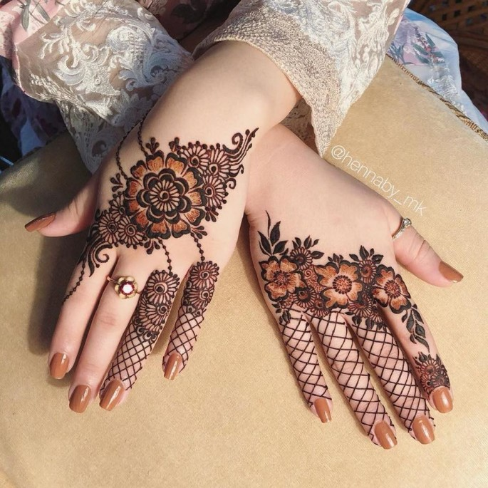 latest backhand mehndi designs