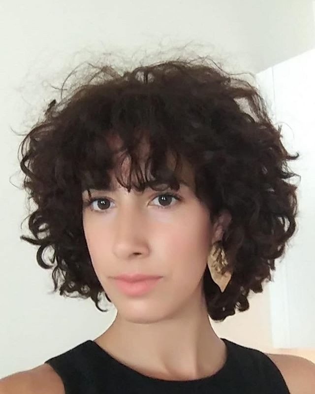 Casually Used Natural Curly Hairstyles